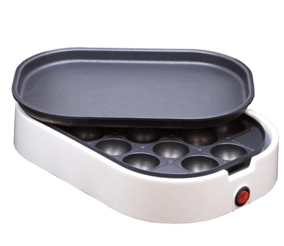 たこ焼き&ミニホットプレートグリル アプレ4(WL-G103N)
