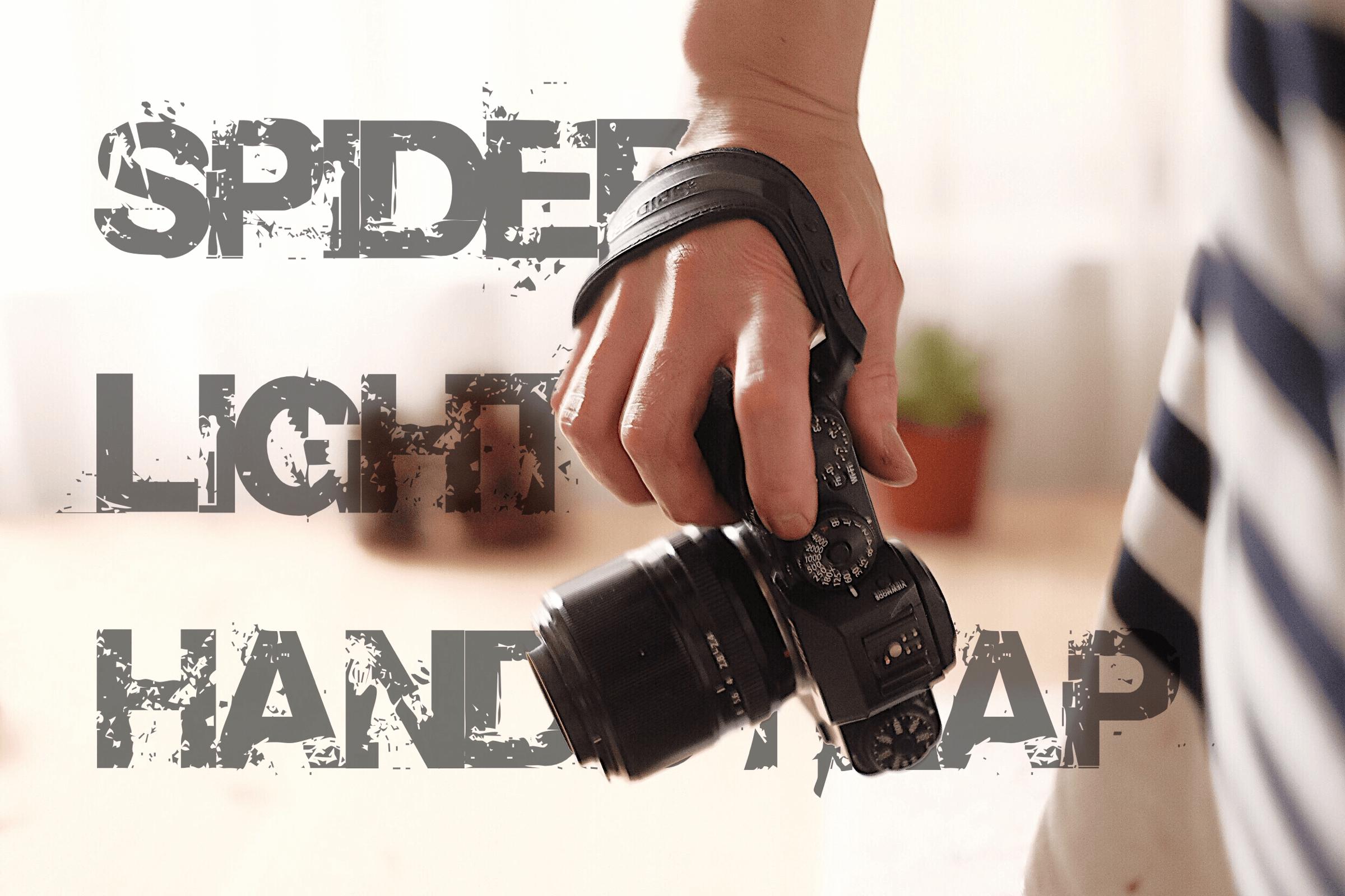 ミラーレスカメラにおすすめの最強ハンドストラップ「SPIDER LIGHT」