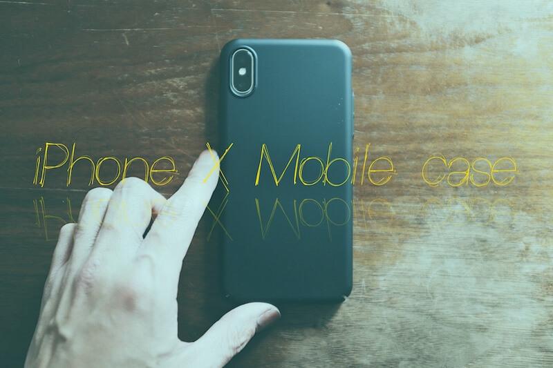 【レビュー】iPhone Xの画面が割れたのでTORRASの薄いシンプルなiPhoneケース買った