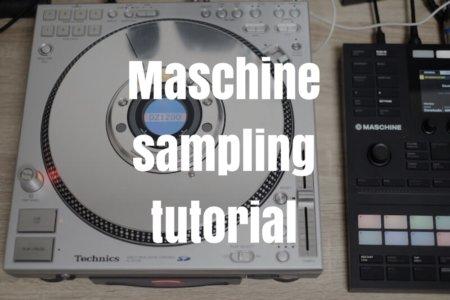 Maschine MK3でターンテーブルでレコード、CDJからCDをサンプリングする手順・やり方まとめ