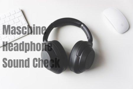 【Maschine】Maschine MK3に接続したヘッドホンから音が出ない時のチェック項目