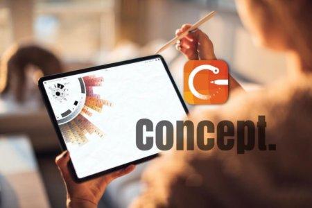 【iPad】イラスト・スケッチ・お絵かきのオススメアプリ「Concept」